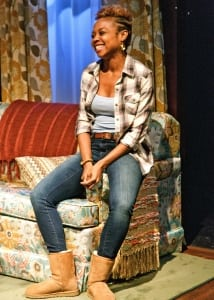 "Sheria Irving in ""While I Yet Live"" at Primary Stages (photo: James Leynse)"
