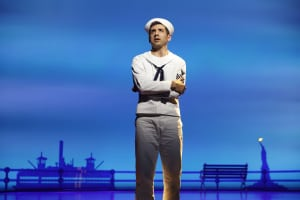 "Tony Yazbeck in ""On The Town"" (photo: Joan Marcus)"