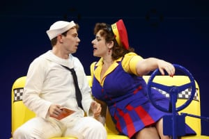 "Jay Armstrong Johnson & Alysha Umphress in ""On The Town"" (photo: Joan Marcus)"