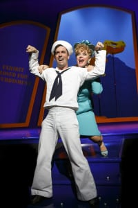 "Clyde Alves & Elizabeth Stanley in ""On The Town"" (photo: Joan Marcus)"