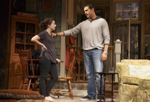 "Sarah Steele & Daniel Sunjata in ""The Country House"" (photo: Joan Marcus)"