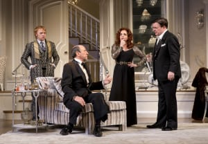 "Rupert Grint, F. Murray Abraham, Stockard Channing & Nathan Lane in ""It's Only A Play"" (photo: Joan Marcus)"