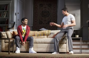 "Danny Ashok & Hari Dhillon in ""Disgraced"" (photo: Joan Marcus)"