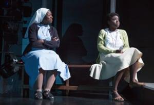 "Starla Benford & Joaquina Kalukango in ""Our Lady of Kibeho"" (photo: Joan Marcus)"