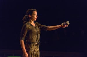 """Laura Donnelly in """"The River"""" (photo: Richard Termine)"""