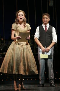 "Laura Osnes & Brian Stokes Mitchell in ""The Band Wagon"" (photo: Joan Marcus)"