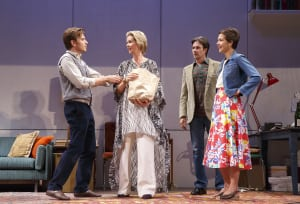 "Ewan McGregor, Cynthia Nixon, Josh Hamilton & Maggie Gyllenhaal in ""The Real Thing"" (photo: Joan Marcus)"