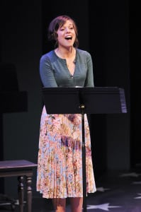 "Margo Seibert in ""Saturday Night"" (photo: Jenny Anderson)"