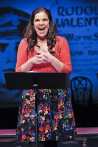 "Lindsay Mendez in ""Saturday Night"" (photo: Jenny Anderson)"