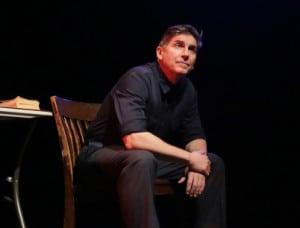 "James Lescene in ""The Absolute Brightness of Leonard Pelkey"" (photo: Peter Yesley)"